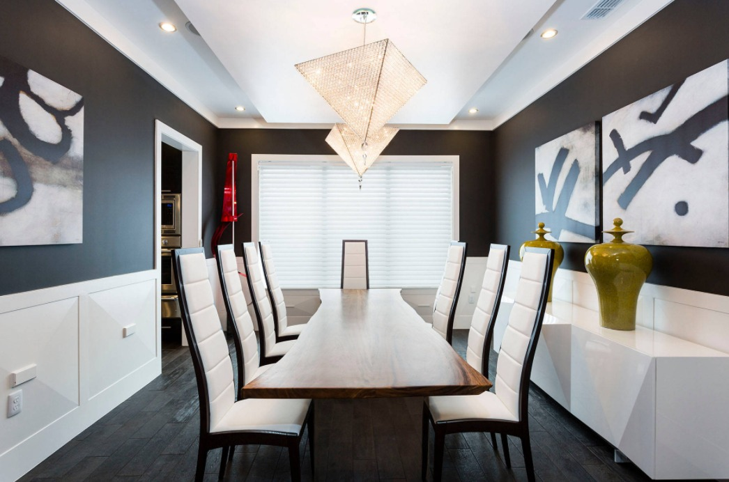 How To Highlight And Decorate A Black Accent Wall