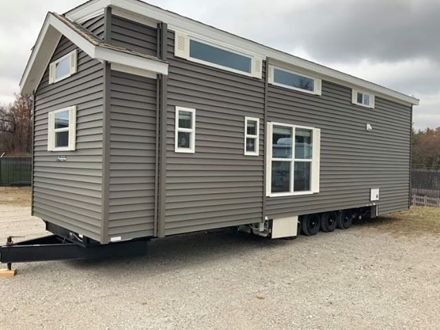 The house is mobile and can be easily transported to a new location whenever necessary