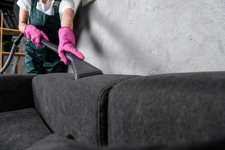 Types of upholstered furniture steam cleaners
