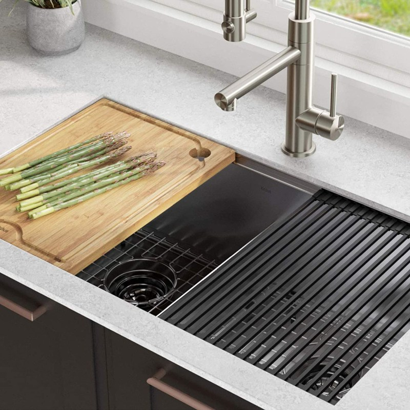 Try Double Bowl Kitchen Sinks to Upgrade Your Kitchen