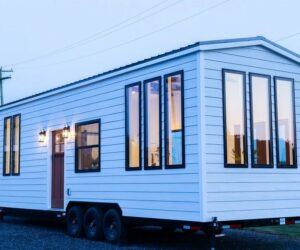 A Farmhouse-Style Tiny Home With The Most Charming And Welcoming Interior