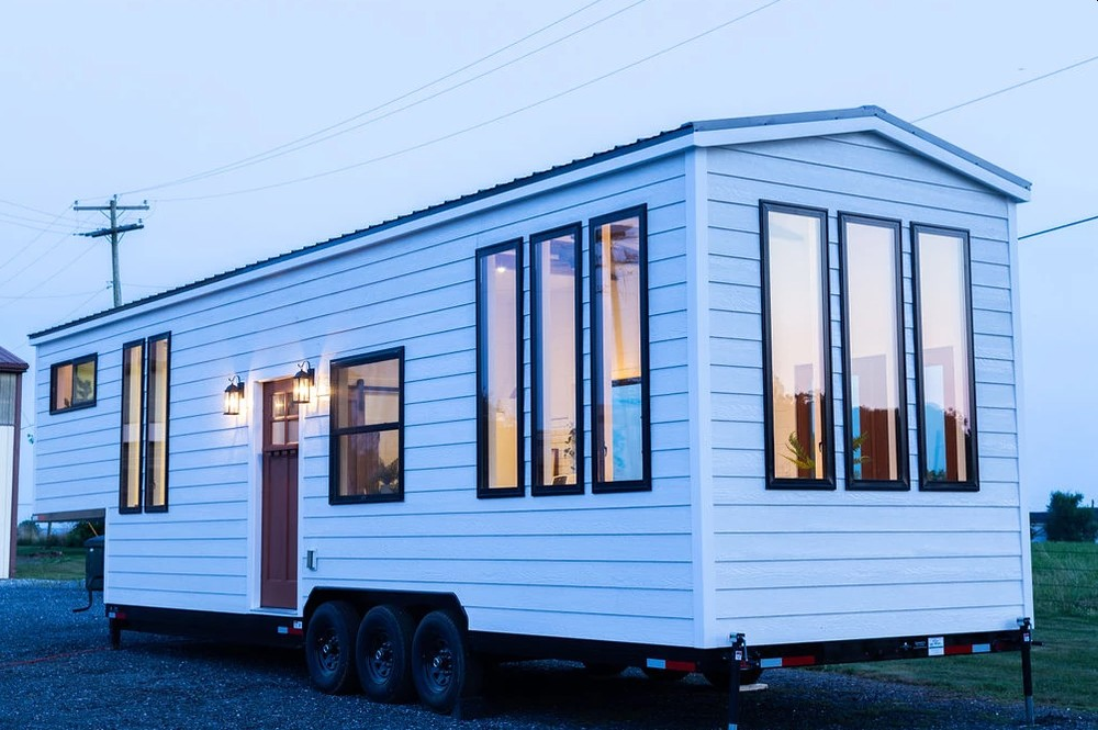 Although compact, this tiny house has a lot to offer in terms of style, comfort and convenience