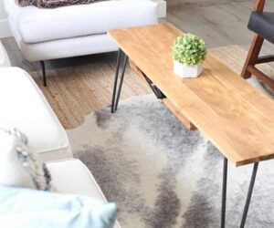 How To Build Useful Furniture Fast Using Hairpin Legs
