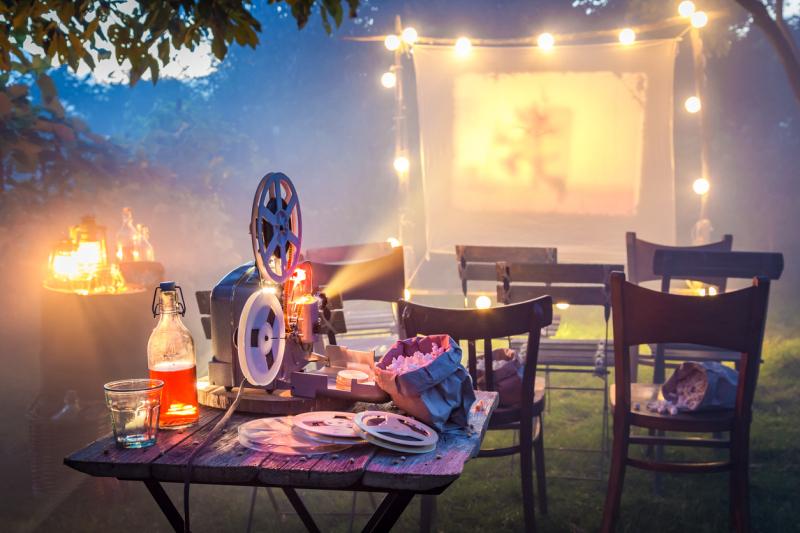 Outdoor Home Projector