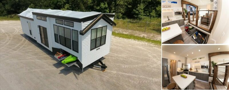 A New Craftsman-Style House On Wheels Ready For Adventure