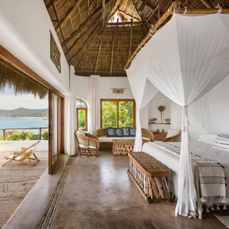 A Small Holiday Retreat With African and Mexican Design Influences