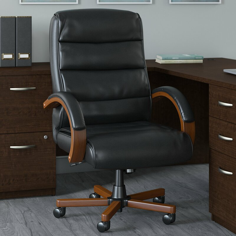 Style Your Office with These Leather Desk Chairs