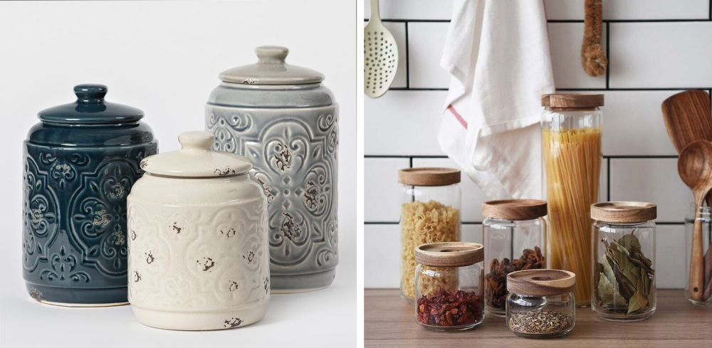Stylish Kitchen Canisters