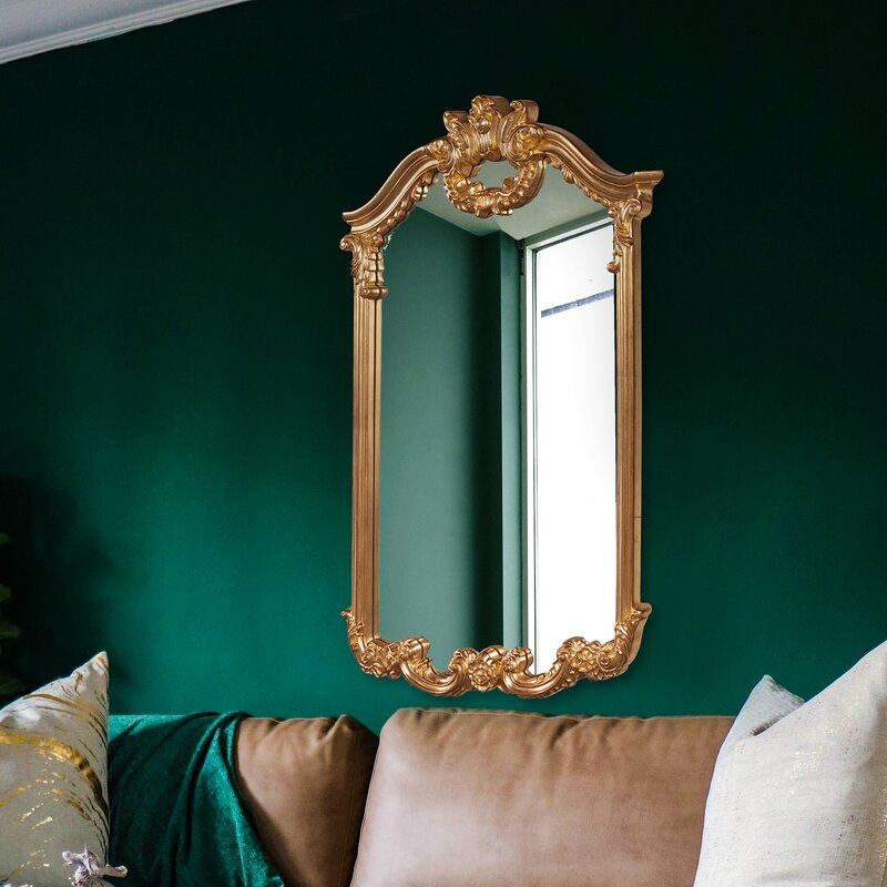How To Bring The Glamorous Accents With Gold Arch Mirrors