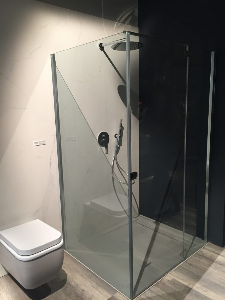 How much does a tiled walk-in shower cost?