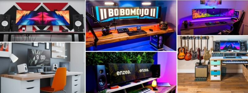 How To Build A Proper Desk Setup – 20 Inspiring Tours from Popular Vloggers
