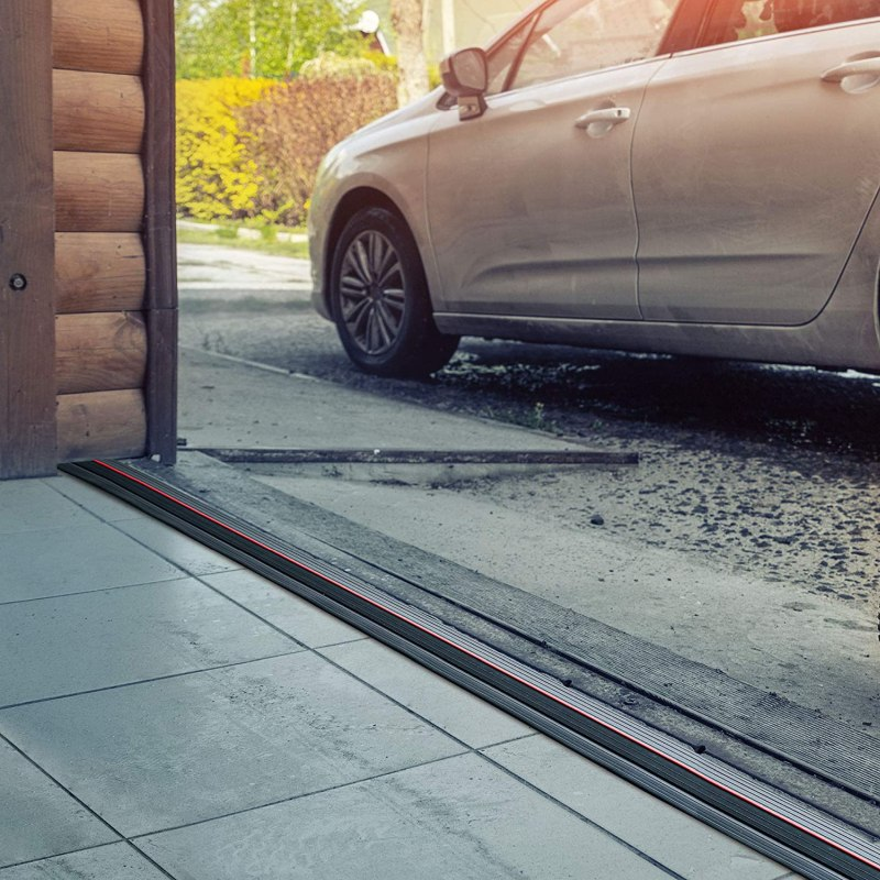 Keep Out The Water With A Garage Door Threshold