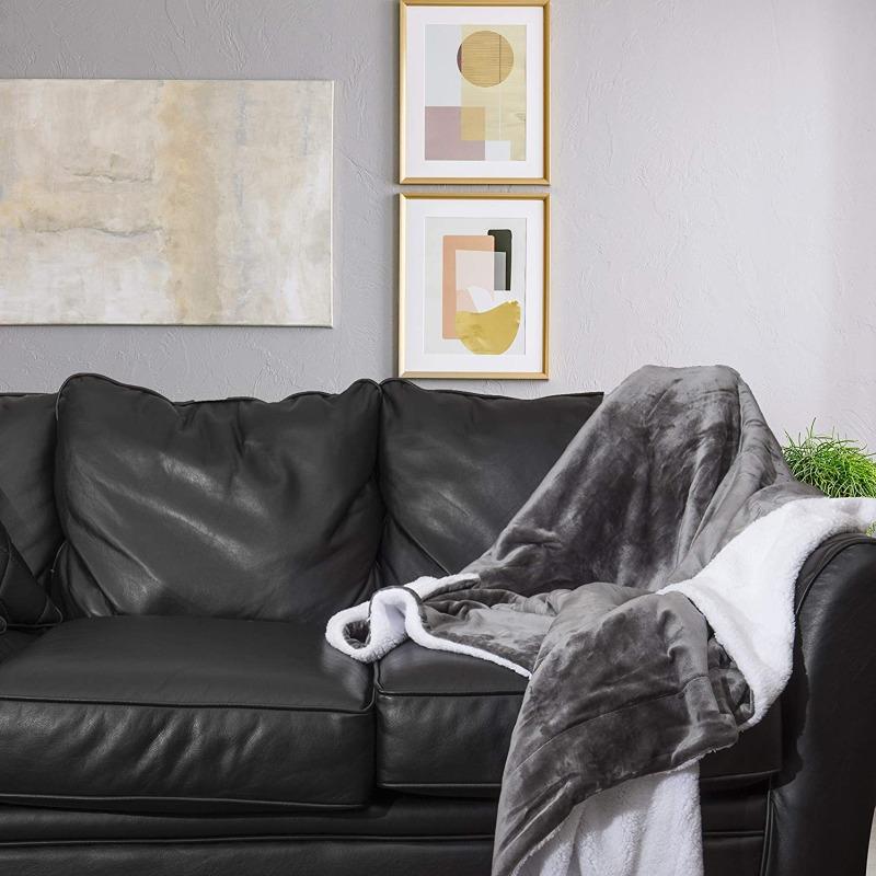 Super Soft Reversible Ultra Luxurious Plush Blanket