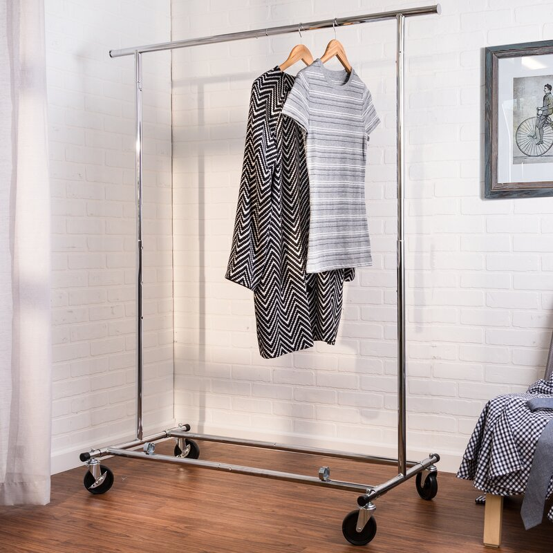 Garment Rack Ideas That Show Off Your Stylish Wardrobe