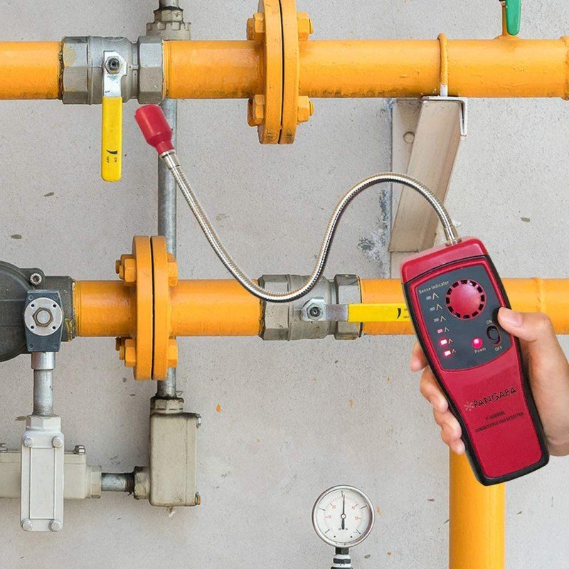 Portable Propane Methane and Natural Gas Leak Detector