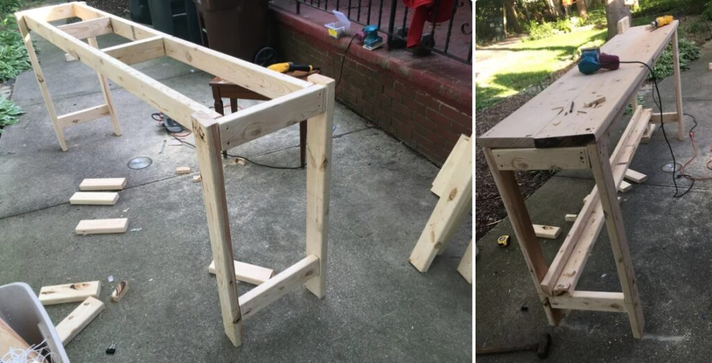 A custom-size workbench project