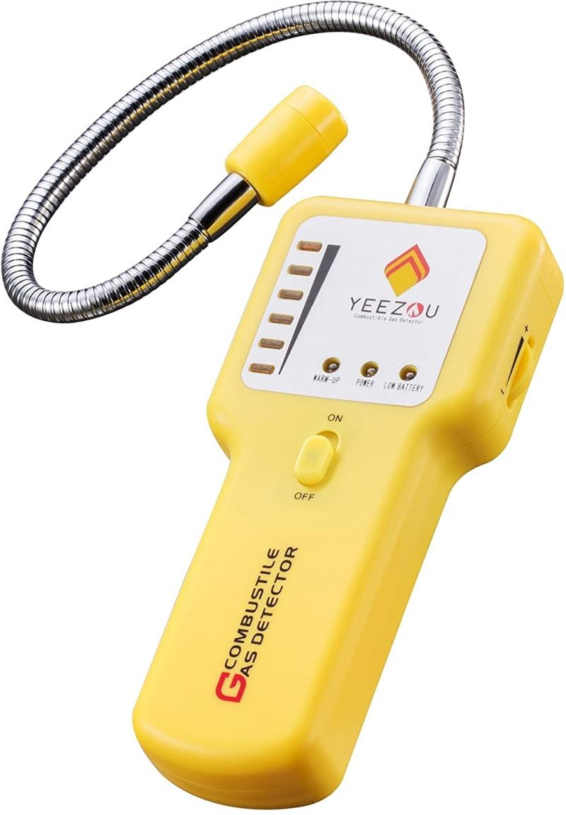 Techamor Y201 PortableNatural Gas Leak Detector