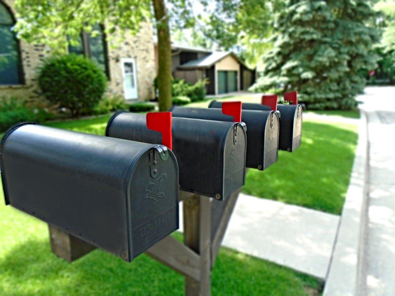 United States postal address change