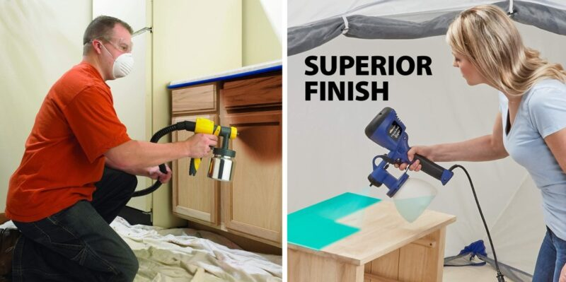 How To Choose The Best Paint Sprayer for Kitchen Cabinets