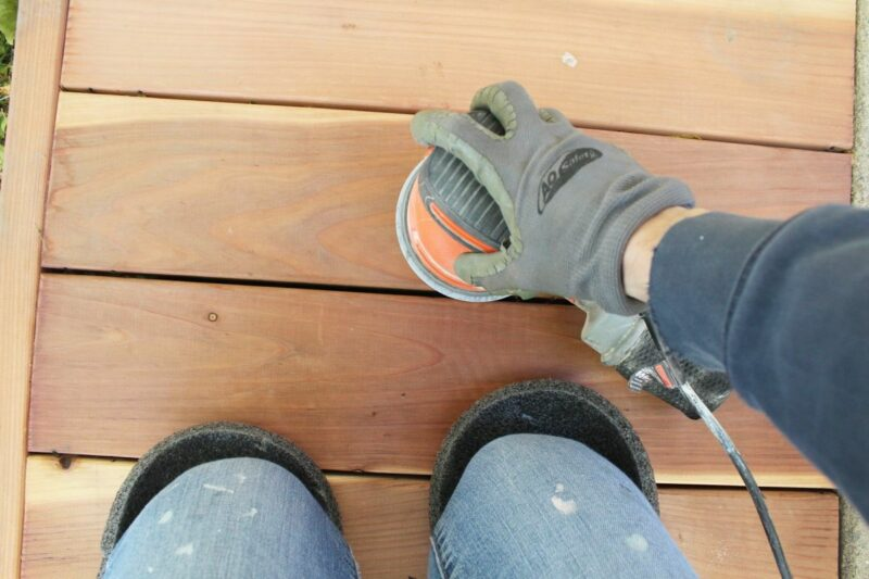 Ensure Your Deck is Smooth with the Right Sander
