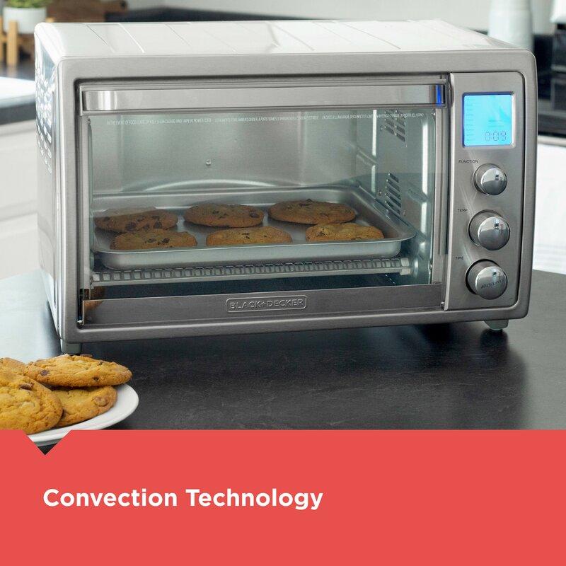 Black + Decker Crisp Bake Air Fry Countertop Oven