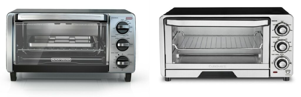 Black and Decker Air Fryer Toaster Oven vs. Cuisinart