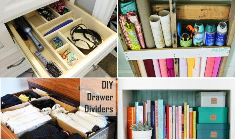 How To Keep A Clean And Tidy House – DIY Organizer Ideas