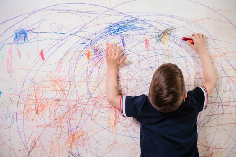 How to Get Crayon Off The Wall Without Going Insane
