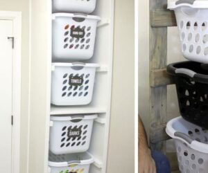 How To Sort Your Laundry In Style – Cool Laundry Basket Holder Ideas