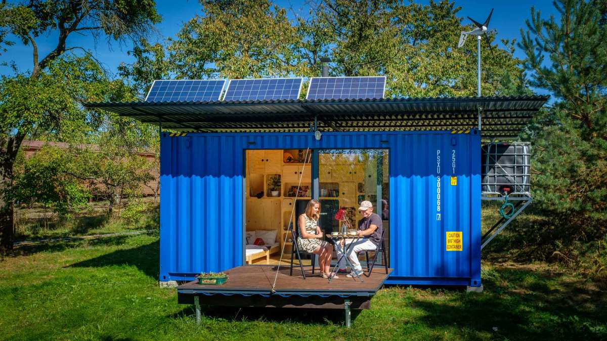 This self-sufficient tiny house is perfect for various beautiful but secluded locations which are worth preserving