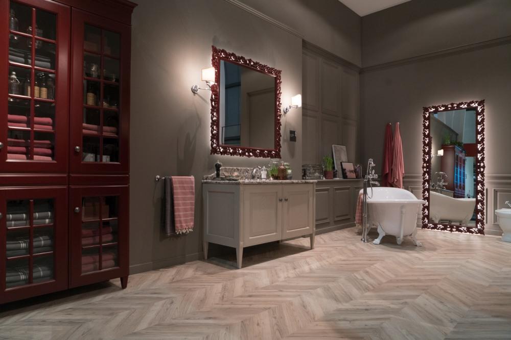 Scavolini ultra feminine bathroom