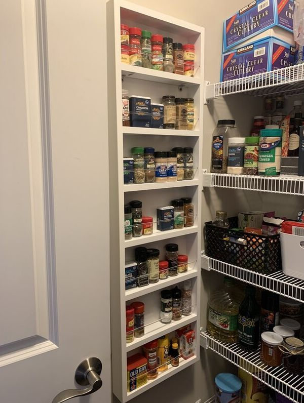 Easy Ways To Save Space In The Kitchen With A Door Spice Rack