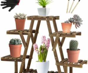 Beautiful Ladder Planters That You Can Craft, Buy And Decorate Your Home With