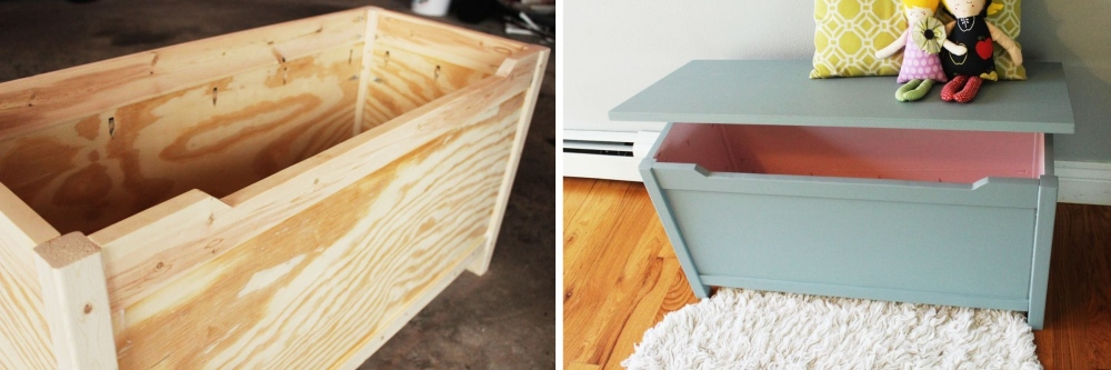 How To Build Convenient Storage For Toys - Toy Box Plans