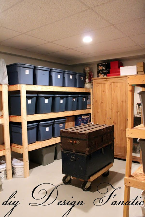 Basement Storage Shelves And Design Ideas Full Of Potential