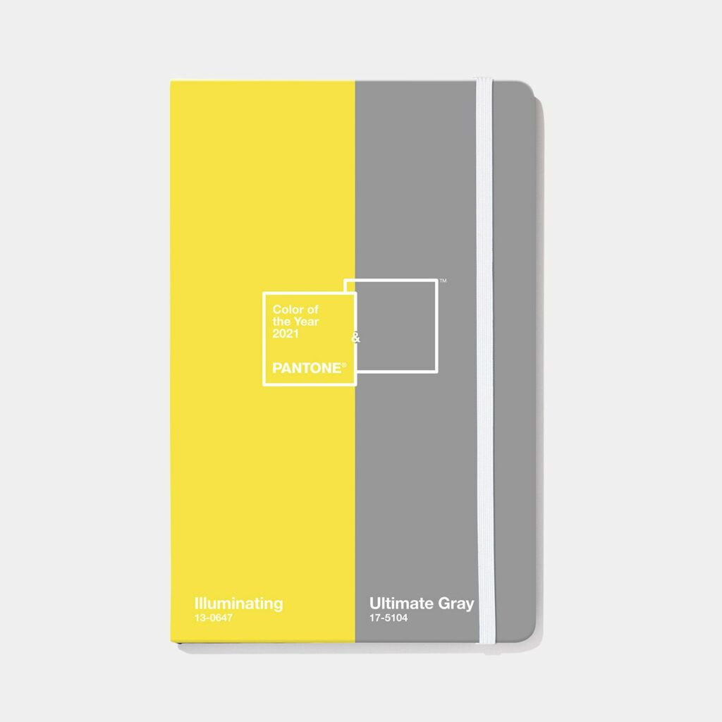 pantone color of the year notebook