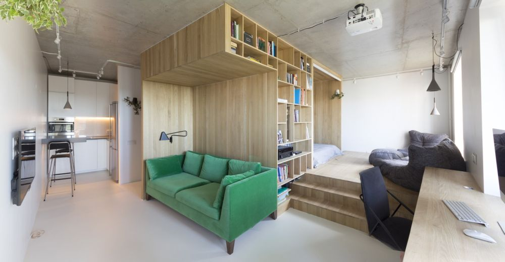 A multifunctional wooden