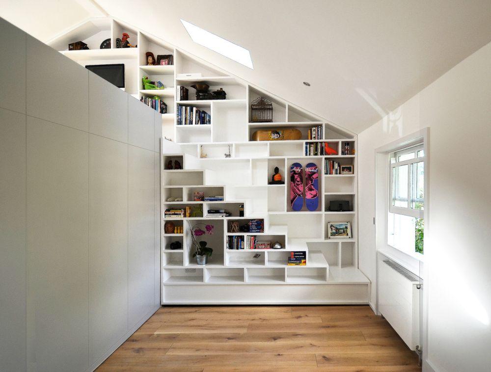 A staircase hidden in plain sight