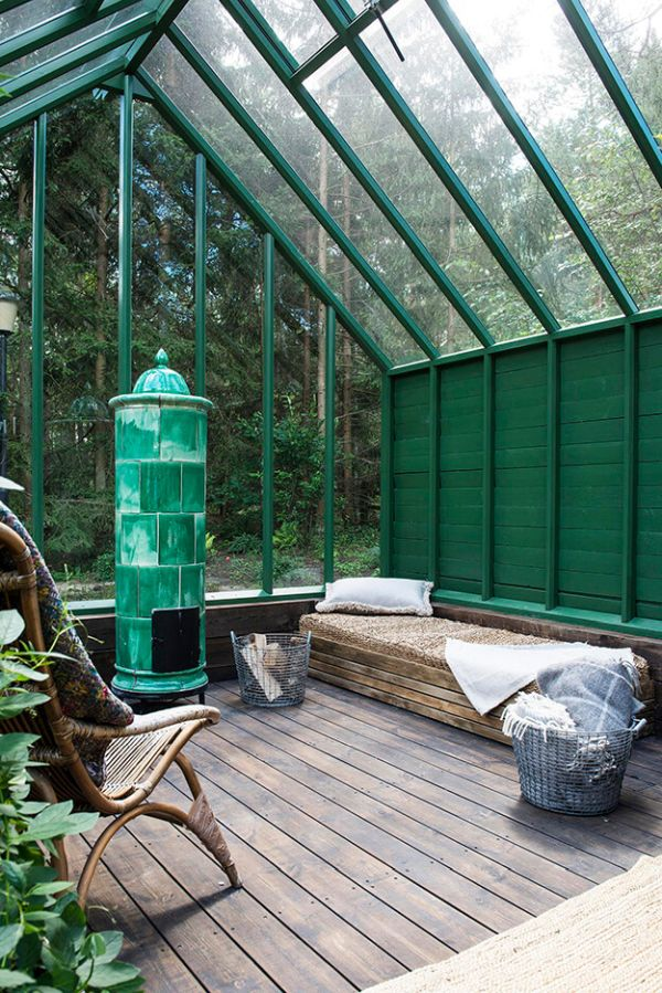 Greenhouses and sunrooms let you enjoy the outdoor from inside
