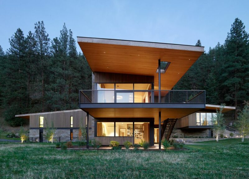 Modern Mountain Homes From Some Of The Most Wonderful Locations On Earth