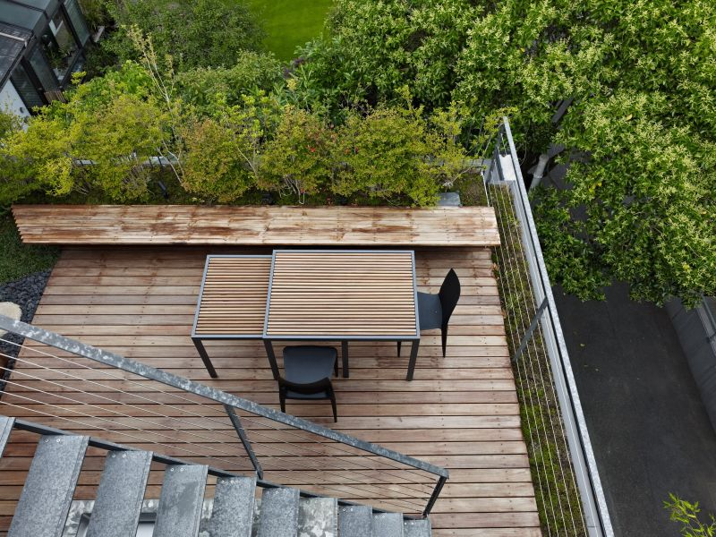 Adding layers to a small deck also makes it bigger
