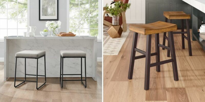 Clever Backless Bar Stools That Are Actually Stylish