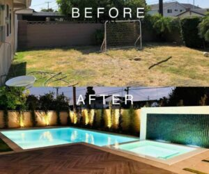 Time for Some Spring Cleaning: Backyard Before And After Ideas