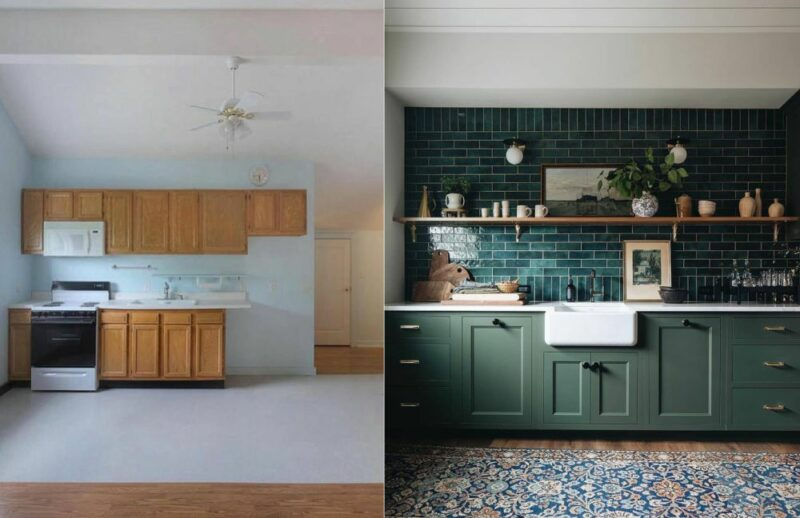 Inspiring Kitchen Before And After Remodels Full Of Ideas You Can Borrow