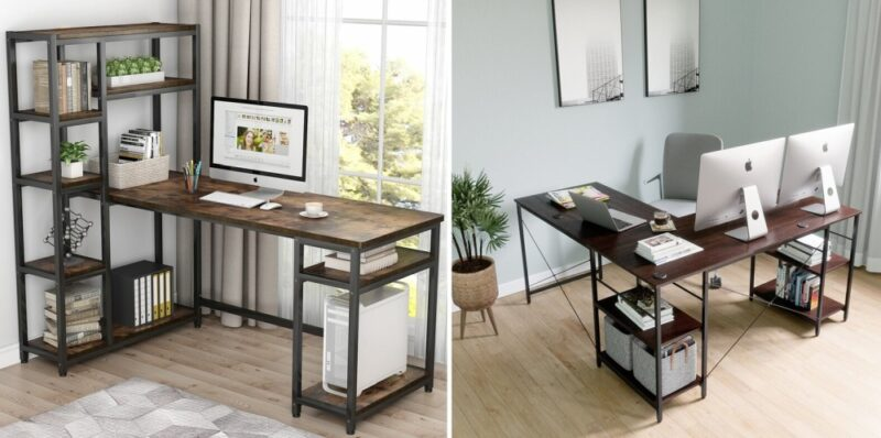 10 of the Most Stylish—and Functional—Desk With Bookshelf Ideas