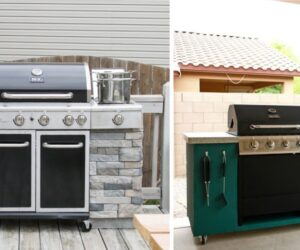 Great Plans For The Backyard – DIY Grill Station Designs And Ideas
