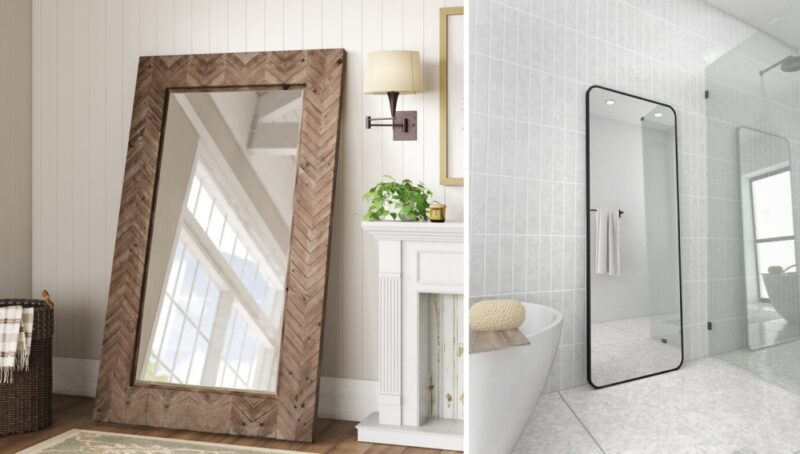 Gorgeous Long Mirror Ideas To Create The Illusion Of A Bigger Space