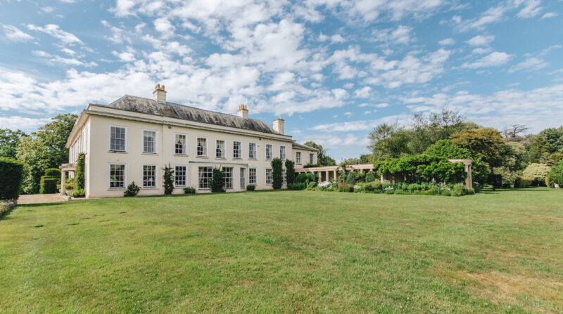 Make Your Bridgerton Fantasy Come True in this Grand English Country Estate