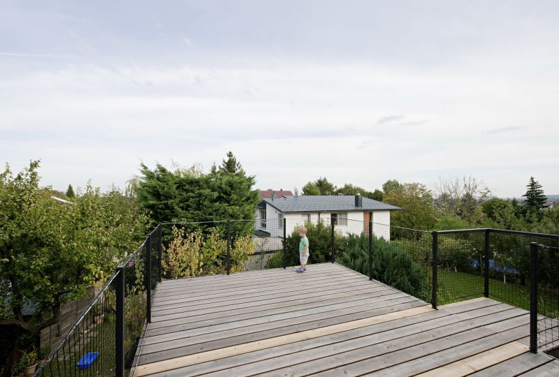 A raised deck often gives a better view