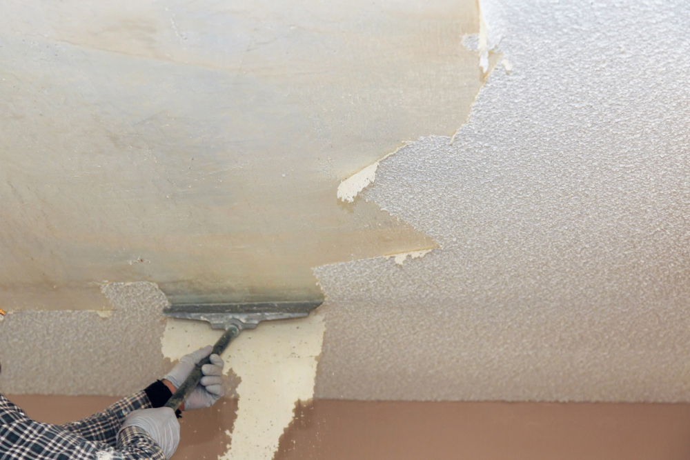 Popcorn Ceiling Removal: DIY Methods And Total Cost